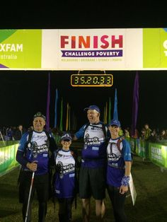 Well done to our Oxfam Trailwalker team Walk A While - 100km in 35 hrs 20mins! What an achievement!!! Don't forget to donate at https://trailwalker.oxfam.org.au/team/home/20024
