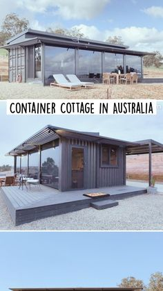 Shipping Container Sheds, Cargo Container Homes, Storage Container Homes, Building A Container Home, Container Buildings, Container Architecture, Container House Design, Shipping Containers, Tyni House