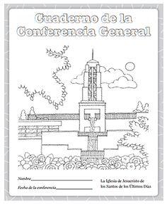 CUADERNILLO DE ACTIVIDADES PARA LA CONFERENCIA GENERAL Por: lds.org