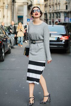Meet you on the Milan Fashion Week 2015 Day 05 #Streetstyle