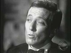 Oh Danny Boy, Andy Williams.  I am a cheeseball but I love this.  So effortless.