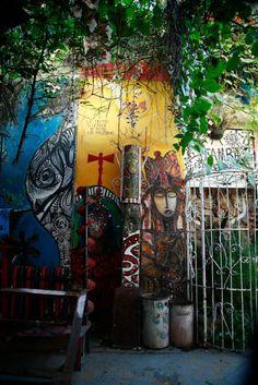 Envy is the worst of all sorceries. Salvador Gonzalez,Callejon de Hamel. Cuba