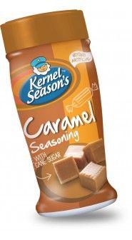 caramel popcorn seasoning, make with blended werthers??