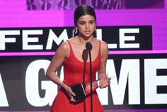 """2016 American Music Awards: Winners and Highlights:     Favorite Female Artist – Pop/Rock:   Selena Gomez won her first AMA and thanked her fans. Getting emotional, the """"Hand to Myself"""" singer said: """"All I can say is I'm so grateful that I have the opportunity to be able to share what I love every day with people that I love. I have to say thank you so much to my fans, because you guys are so damn loyal, and I don't know what I did to deserve you."""""""