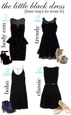 the LBD: 4 Ways to Wear it