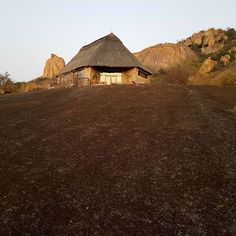 One of the 18 chalets at Matobo Hills Lodge
