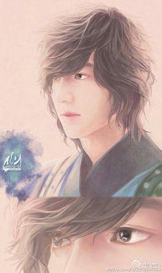 Lee Min Ho, The Great Doctor, Faith, fan art.