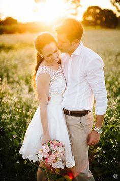 O unico vestido de casamento curto bonito da historia