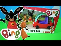 Bing Flop's Car Toy unboxing BBC Cbeebies Bing TV Show | Kids Play O'clock - YouTube