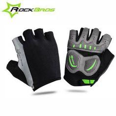 Cycling Gloves | ROCKBROS Summer Half-finger Cycling Gloves $10.40