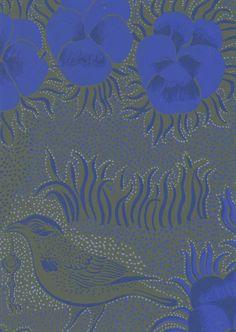 Kiurujen yö Vintage Designs, The Past, Mandala, Joy, Wallpaper, Blue, Painting, Inspiration, Beautiful