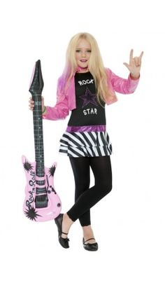 Deguisement d'Allannah Rock Star