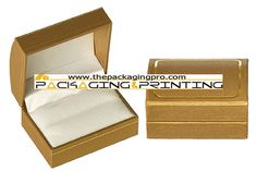 Leatherette double ring jewelry box - http://www.thepackagingpro.com/products/leatherette-double-ring-jewelry-box/