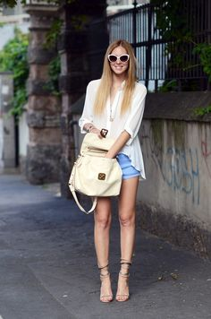 #StreetStyle Shirt Trends for Summer 2013