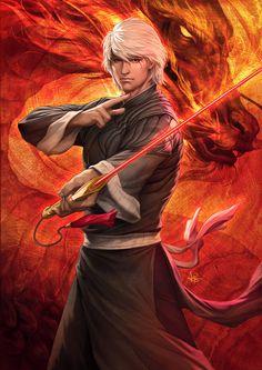 Inspiration for Vaeloc! #MetalShadow Crimson Legends 2 by Artgerm on deviantART