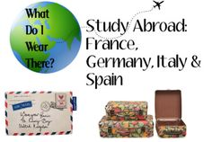 What to wear for study abroad in Germany, France, Italy, and Spain|| Since Poland and Germany are right next to each other, I'm assuming the advice will still be relevant. Plus, I plan on visiting all those countries, anyways.
