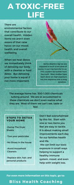 Getting the toxins out of your home is crucial for good health.