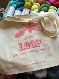 loop cotton bags