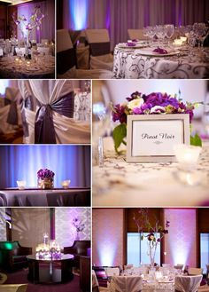 PURPLE modern chic wedding inspiration - see more of this wedding at http://www.couturecolorado.com/wedding/2011/06/22/real-colorado-wedding-four-seasons-part-ii/