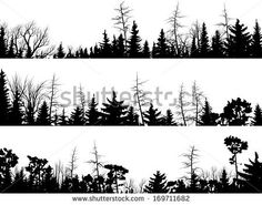 Free Templates Of Drawing Pine Trees » Ugraphic.