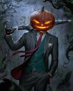Get Spooked by a Spooky Jack O' Lantern . Spooky Jack O' Lantern Dark Fantasy Art, Foto Fantasy, Fantasy Kunst, Final Fantasy, Monster Art, Arte Horror, Horror Art, Creepy, Scary
