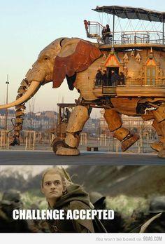 Just Legolas...