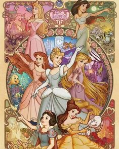 Disney Princess puzzle by Tenyo Japan available on ebay #disneypuzzle #disneyprincess #sleepingbeauty #jasmine #ariel #cinderella #rapunzel…
