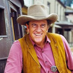 famous cowboys movies TV James Arness