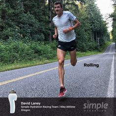 Simple Hydration One Word Series. Hydration Bottle, Team Member, Racing Team, Athlete, Water Bottle, Running, Simple, Keep Running, Water Bottles