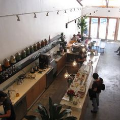 A Handy Guide to the Best Coffee Shops in LA. Intelligensia Coffee marked as #1, I've been there in Chi, would love to experience it in LA!