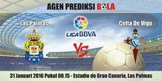 Prediksi Bola Las Palmas vs Celta De Vigo 31 Januari 2016