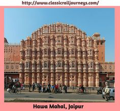 Hawa Mahal is a palace in Jaipur, India, so named because it was essentially a high screen wall built so the women of the royal household could observe street festivities while unseen from the outside.