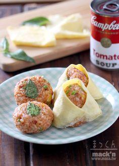 便當食譜- TOMATOの簡單香腸炊飯團