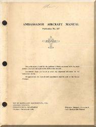 Airspeed Ambassador Aircraft Flight  Manual