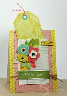 Stamped in His image: Thank You Pocket Card by Julie Campbell.