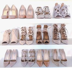 Beige is in this season! Pretty Shoes, Cute Shoes, Me Too Shoes, Zapatos Shoes, Shoes Heels, Nude Heels, Sock Shoes, Shoe Boots, Dream Shoes