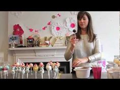 POP Party - How to make a monkey cake pop by Clare O'Connell
