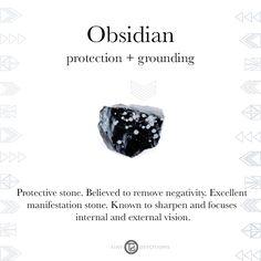 Obsidian | Gemstones & Sacred Materials | Tiny Devotions | Mala Beads