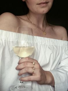 A glass of white win and ready for the weekend