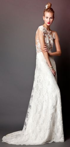 Errico Maria 2013 Bridal Collection - Belle the Magazine . The Wedding Blog For The Sophisticated Bride