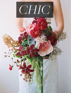 A modern, trendy #bouquet | Brides.com