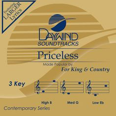 """""""Priceless"""" For King & Country"""