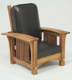 Dollhouse miniature classic morris chair