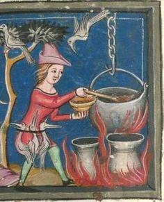 Rudolf / Jansen Enikel, Jans: Weltchronik in Versen - Mischhandschrift aus Christ-herre-Chronik um 1370 Cgm 5  Folio 108r