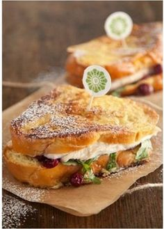 Turkey-Cranberry Monte Cristo