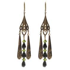 DIY Jewelry Tutorial - How to: Annalisa Earrings #Art Deco | Beadaholique