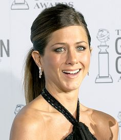 Jennifer Aniston's Ponytail - January 2003