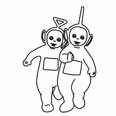 free teletubbies coloring pages for kids