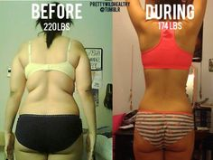 What a difference good eating habits and getting active can make!