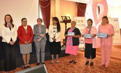 Entrega Gobierno de CDMX y Asociaciones Civiles aditamentos de rehabilitación a víctimas de cáncer de mama